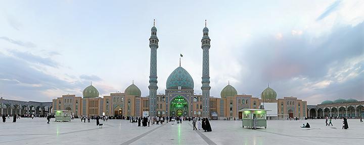 mezquita Qum